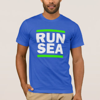Run Seattle funny men's shirt