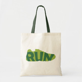 Run Shoe Budget Tote Bag