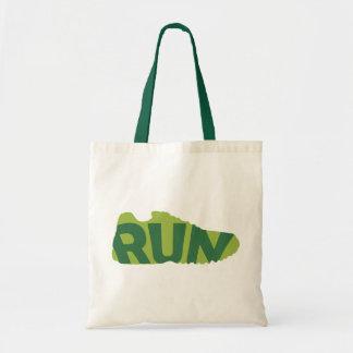 Run Shoe Tote Bag