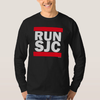 RUN SJC blk - Long Sleeve T-Shirt
