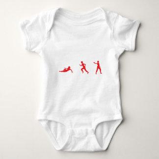 Run, Slide, Shoot Baby Bodysuit