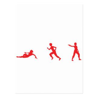 Run, Slide, Shoot Postcard