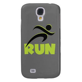 RUN Spring Green Galaxy S4 Case