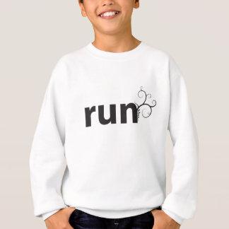 run sweatshirt