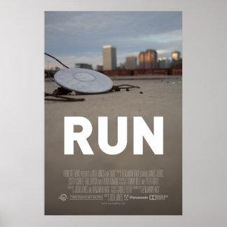 """Run"" Theatrical One Sheet Print"