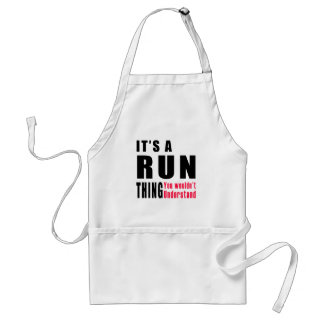 Run Thing Designs Adult Apron