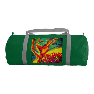 Run Though The Garden Duffle Bag