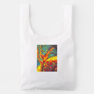 Run Though The Garden Reusable Bag
