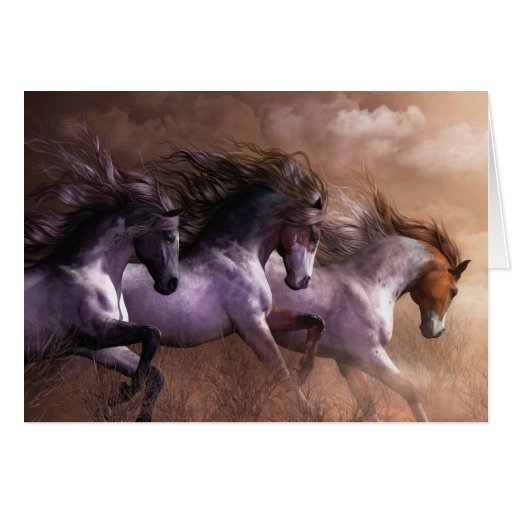 Run to Freedom Notecard Greeting Cards