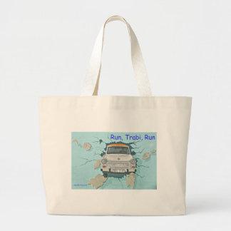 Run, Trabi, Run Tote Bag