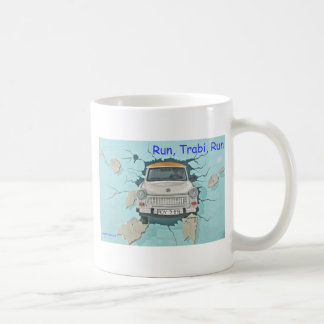 Run, Trabi, Run Coffee Mug
