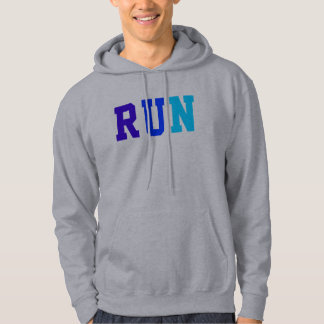 RUN, Track and Field, Prefontaine Quote Hooded Sweatshirt