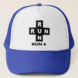 RUN + TRUCKER HAT