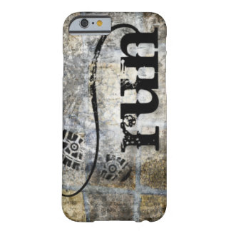 Run w/Shoe Grunge by Vetro Jewelry & Designs Barely There iPhone 6 Case
