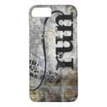 Run w/Shoe Grunge by Vetro Jewelry & Designs iPhone 7 Case