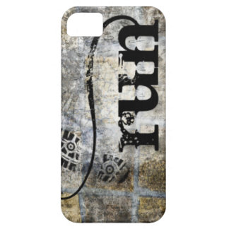 Run w/Shoe Grunge by Vetro Jewelry & Designs iPhone SE/5/5s Case
