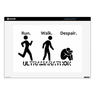 Run. Walk. Despair. Decals For Laptops