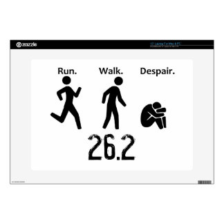 Run. Walk. Despair. Marathon Laptop Skins