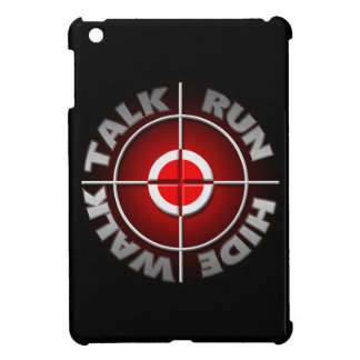 Run walk talk hide. iPad mini cases