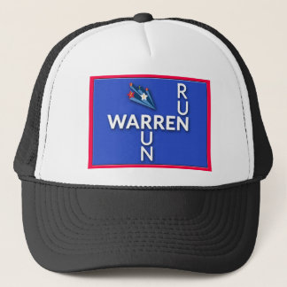 Run, Warren, Run Trucker Hat
