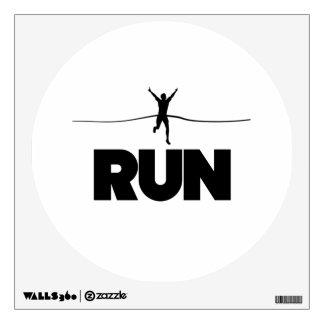 Run Winner Wall Sticker