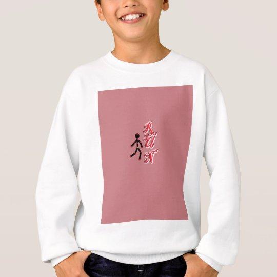 Run With Background Sweatshirt