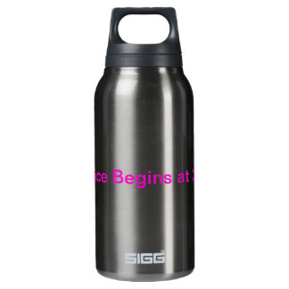 Run With Me Bottle 10 Oz Insulated SIGG Thermos Water Bottle
