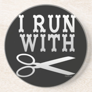Run with Scissors Coaster