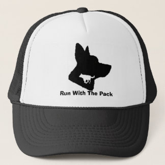 Run With The Pack Trucker Hat