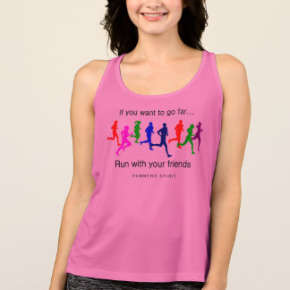 Run With Your Friends - All Sport Tank