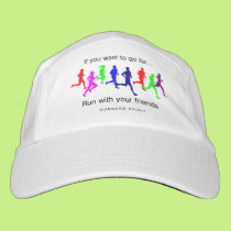 Run with Your Friends Headsweats Hat