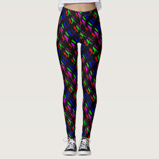 Run With Your Friends Leggings