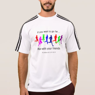 Run with Your Friends Men's Adidas SS T-Shirt