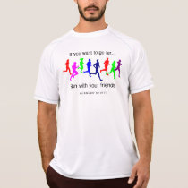 Run with Your Friends New Balance SS T-Shirt