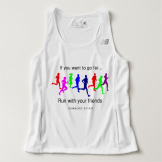 Run with Your Friends New Balance Tank Top