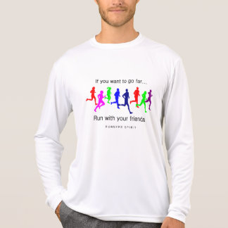 Run with Your Friends Sport-Tek LS T-Shirt