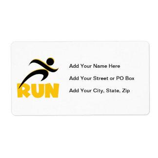 RUN Yellow Label