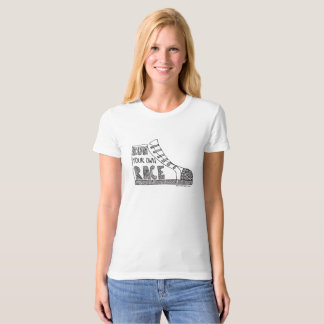 Run Your Own Race Organic T-shirt