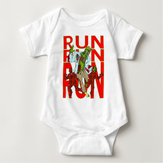RUN Zombies are coming! Baby Bodysuit