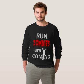 Run Zombies Are Coming Scary Halloween Shirts
