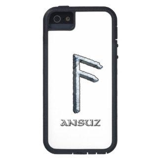 Runa de Ansuz, el símbolo de Odin iPhone 5 Carcasas