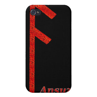 Runa de Ansuz iPhone 4 Protector
