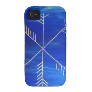 Runa de la cifra vibe iPhone 4 fundas