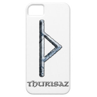 Runa de Thurisaz, el símbolo del Thor iPhone 5 Funda
