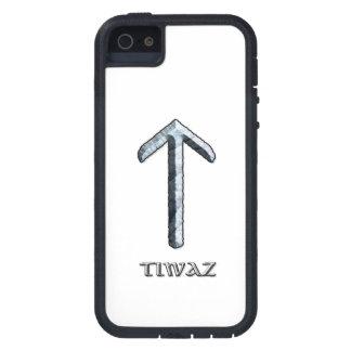 Runa de Tiwaz, dios de la justicia iPhone 5 Fundas