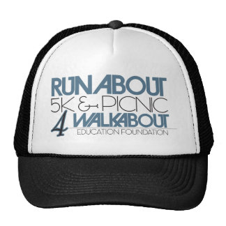 Runabout 5k Picnic 4 WEF Mesh Hats