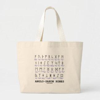 Runas anglosajonas (criptografía de la lingüística bolsa tela grande