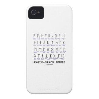 Runas anglosajonas (criptografía de la lingüística iPhone 4 Case-Mate fundas