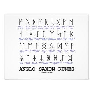 Runas anglosajonas criptografía de la lingüística comunicados personales