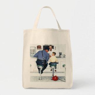 Runaway Grocery Tote Bag